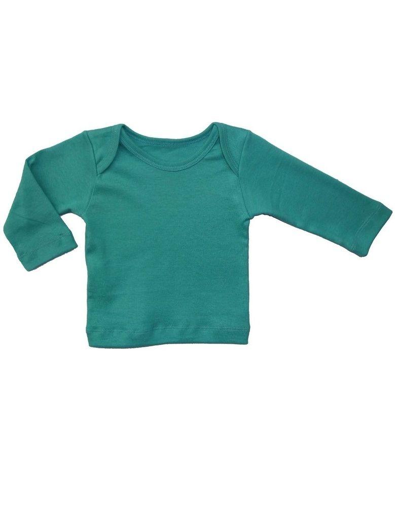 Camiseta Manga Longa em Malha Básica Piscina para Bebê
