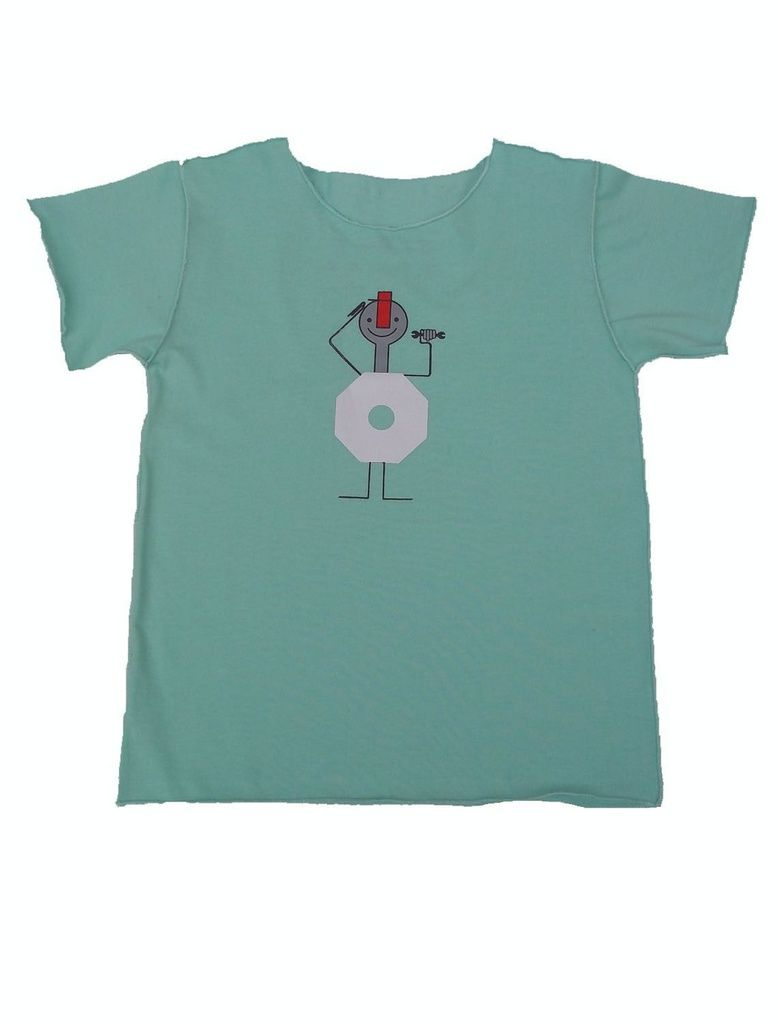 Camiseta Verde Manga Curta Infantil