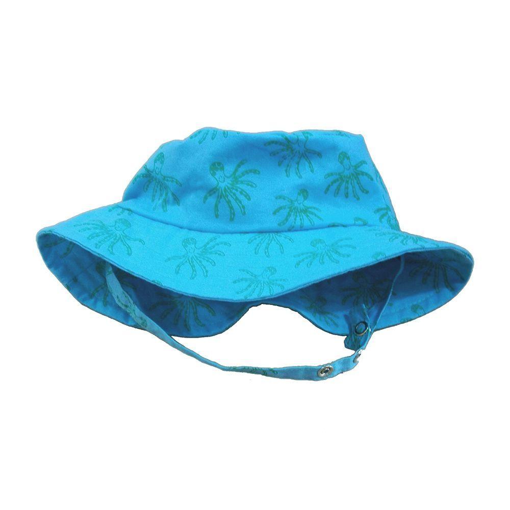 Chapéu para Bebê Azul Polvos