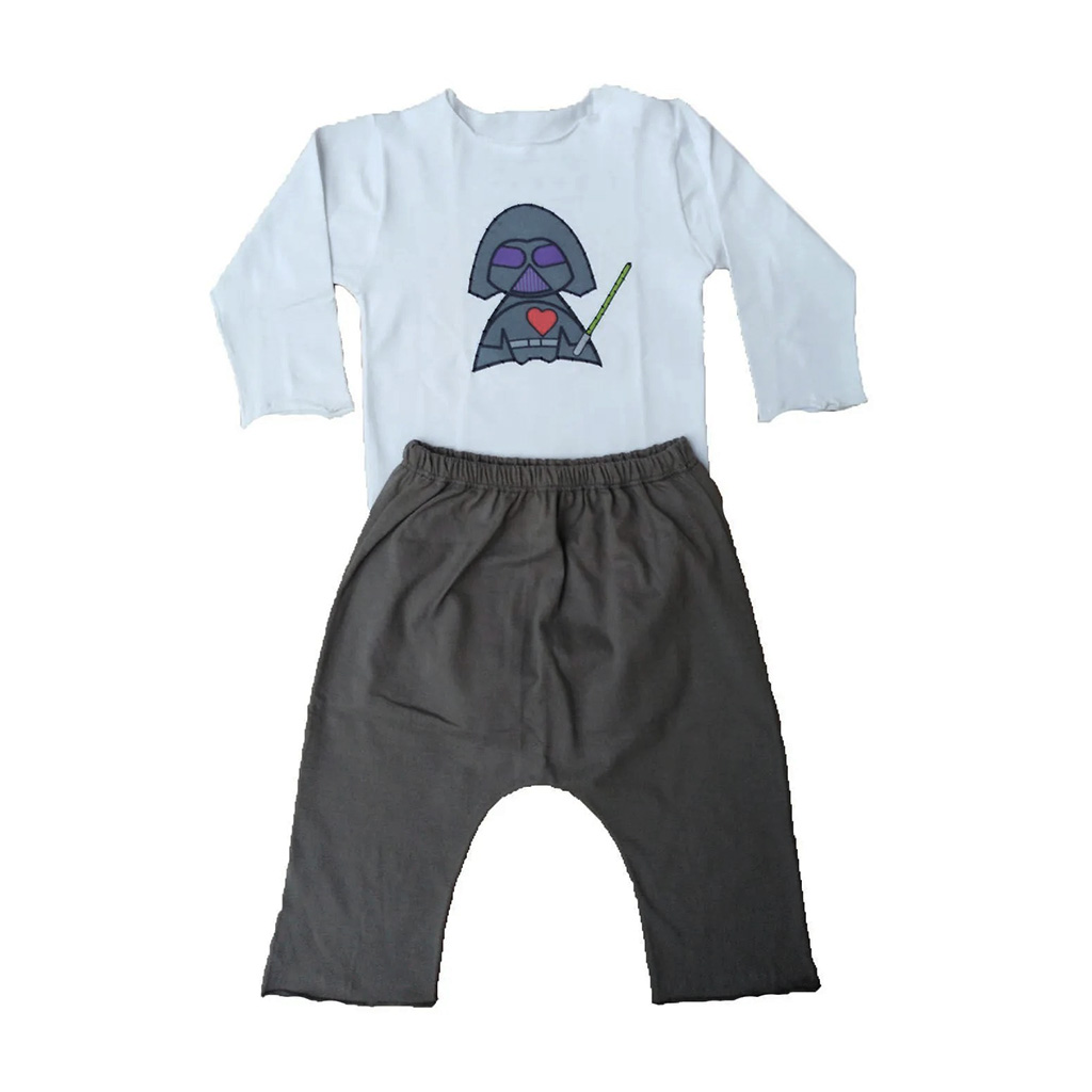 Conjunto calça e Body Darth