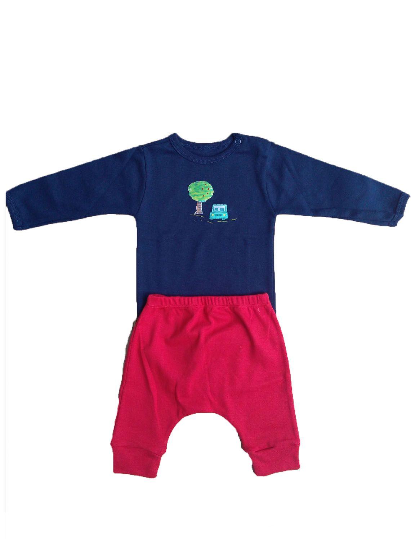 Conjunto calça e Body para Bebê