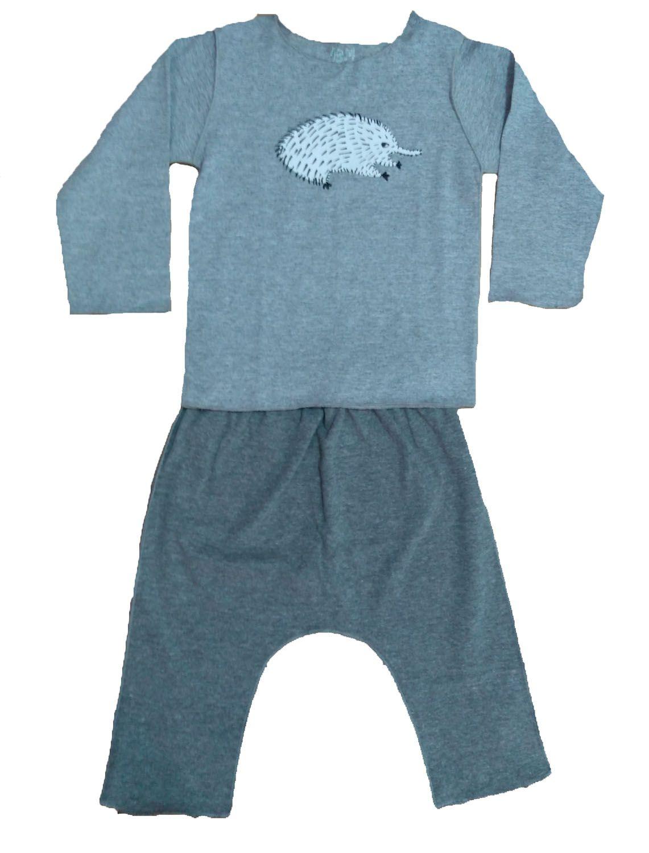 Conjunto calça e Camiseta Manga longa para Bebê