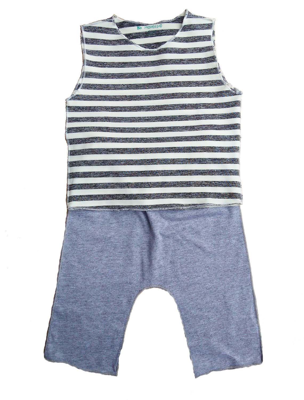 Conjunto calça e Regata para Bebê