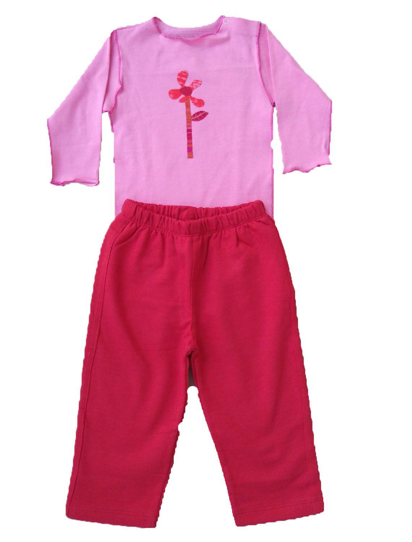 Conjunto calça moleton e Body para Bebê