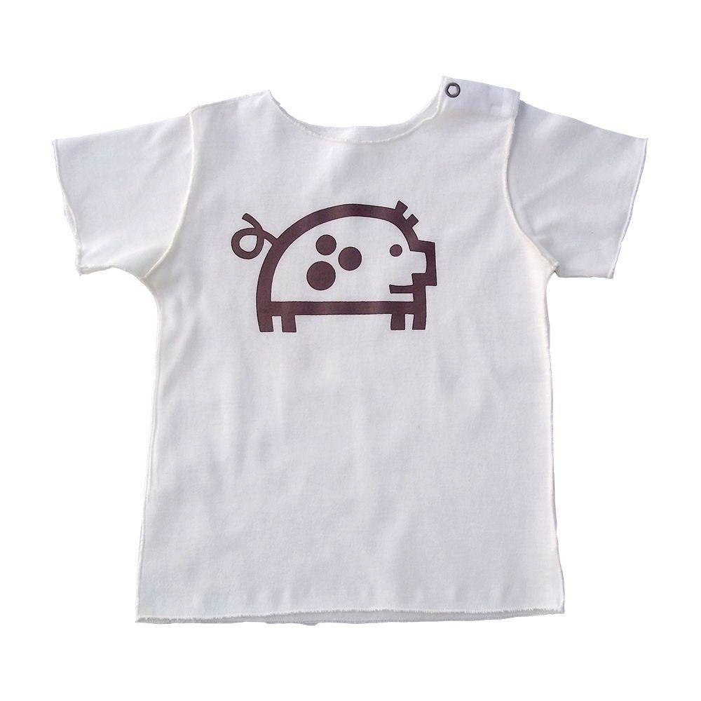Conjunto Camiseta e calça Nude para bebê