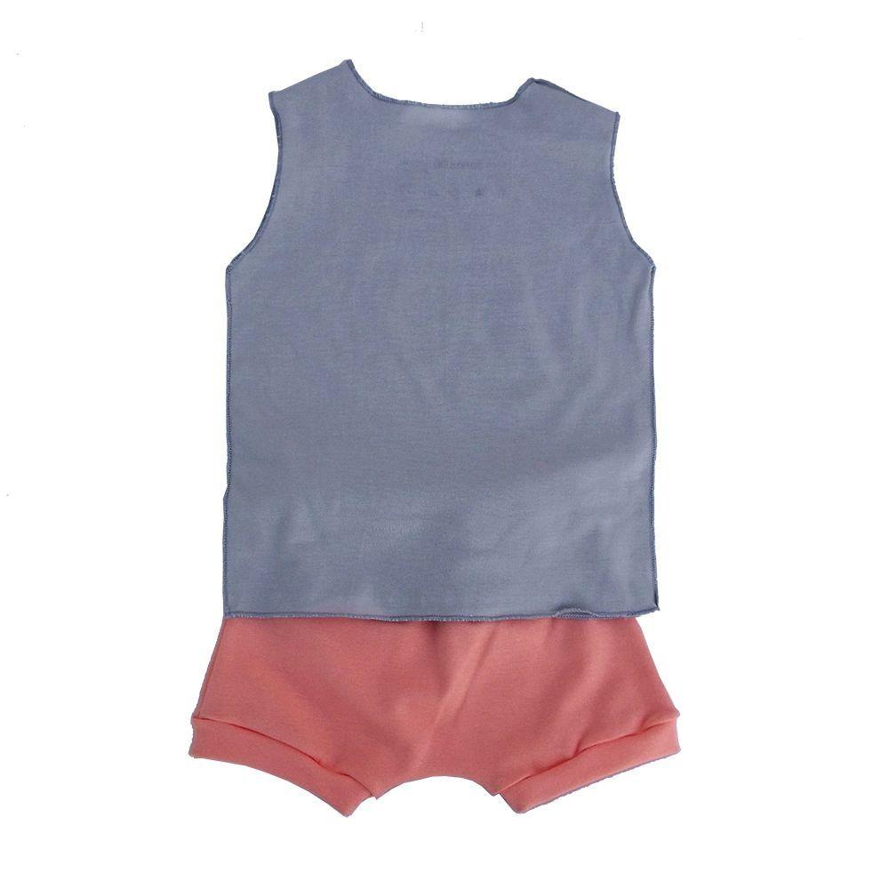 Conjunto para bebê Menina Shorts e Camiseta