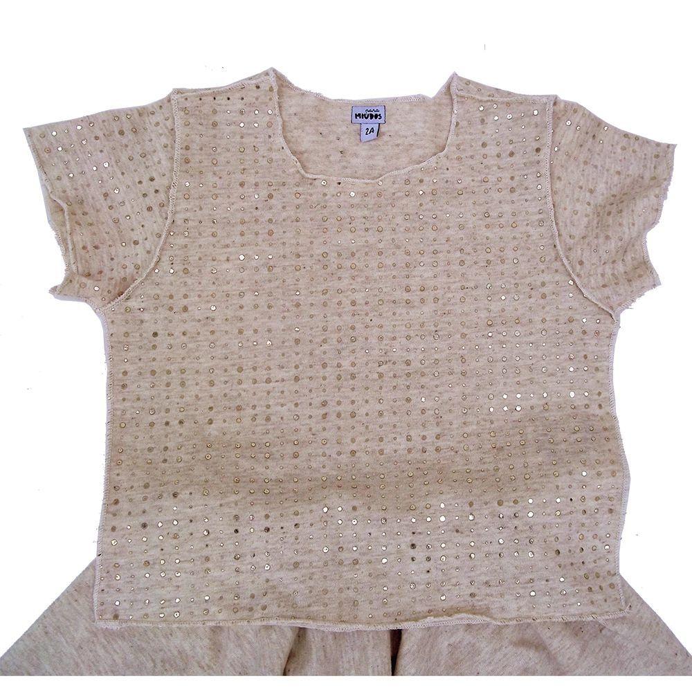 Conjunto Saia e Camiseta Infantil