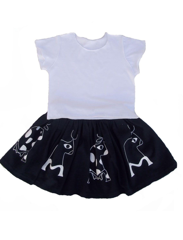 Conjunto Saia Marinho e Camiseta Infantil