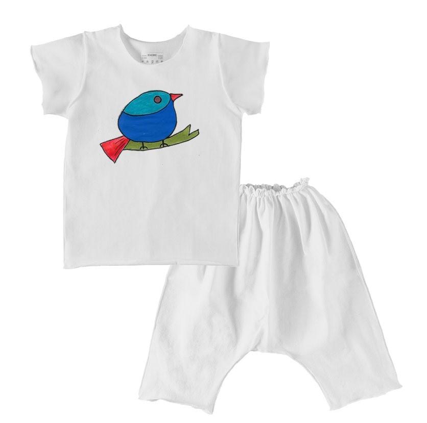 Conjunto Saruel e Camiseta Confort