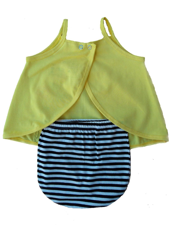 Conjunto tapa fralda e bata para bebê