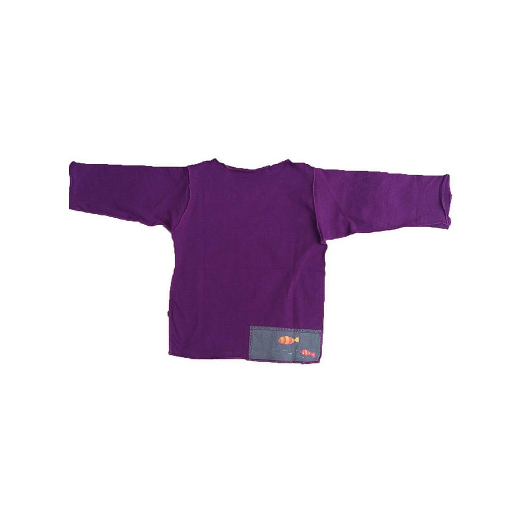 Conjunto Uva calça e Camiseta Manga longa Peixes