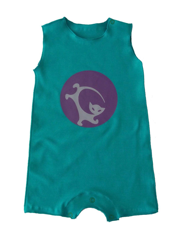 Macacão para Bebê Cavado Verde