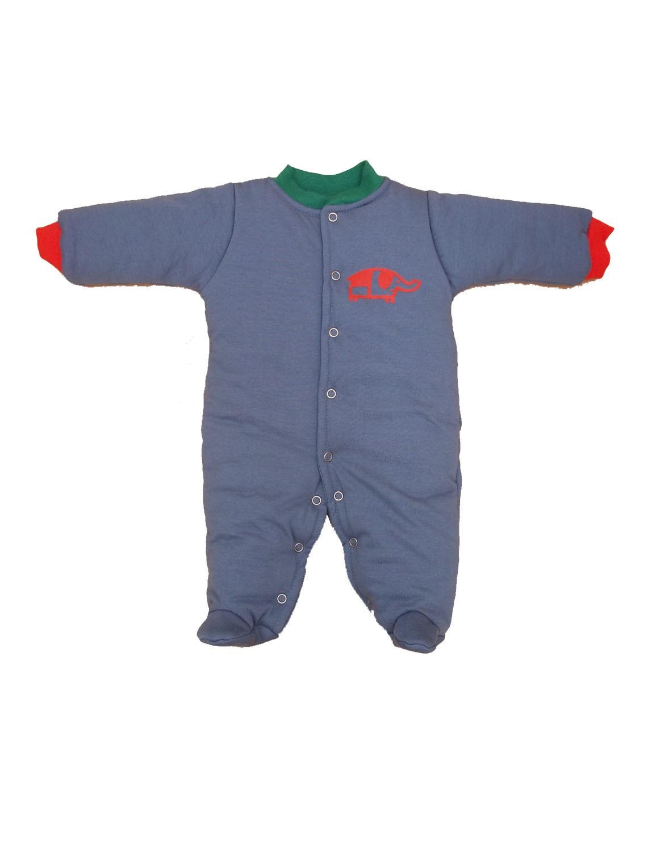 Macacão Esquimó Azul para Bebê