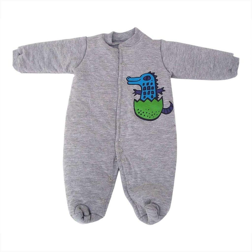 Macacão Esquimó Cinza para Bebê
