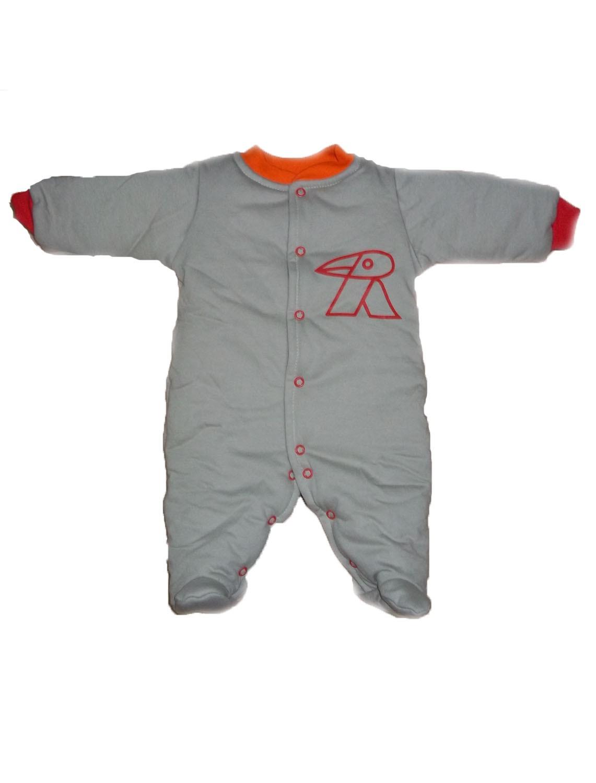 Macacão Esquimó Caqui para bebê