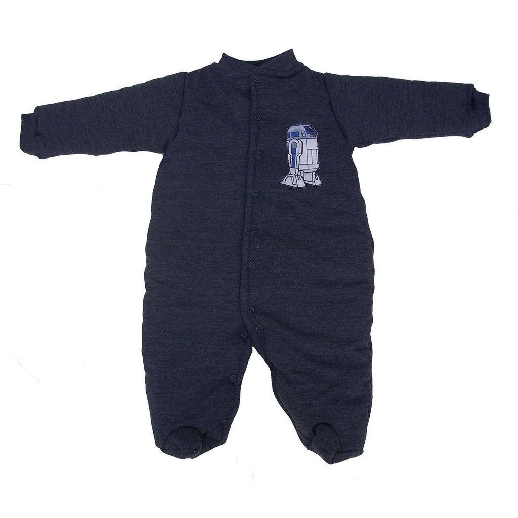 Macacão Esquimó Indigo para Bebê