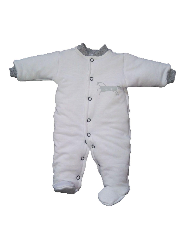 Macacão Esquimó Light Branco para bebê
