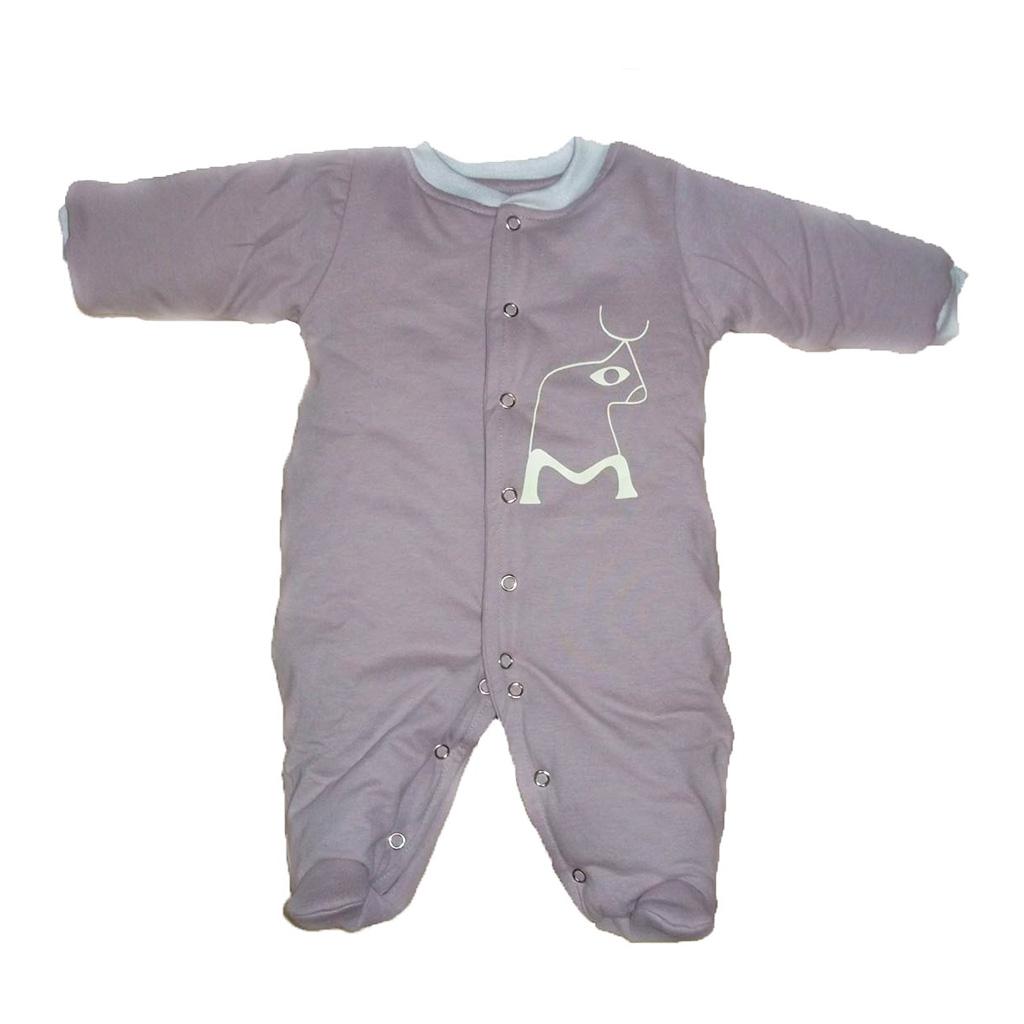 Macacão Esquimó Nude Boizinho para bebê
