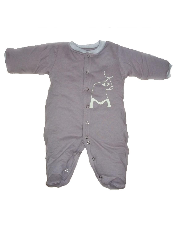 Macacão Esquimó Nude para bebê