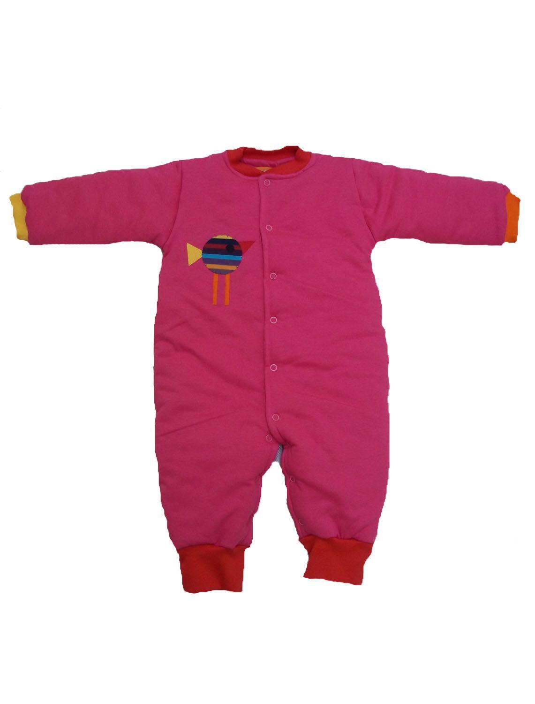 Macacão Esquimó Rosa para Bebê
