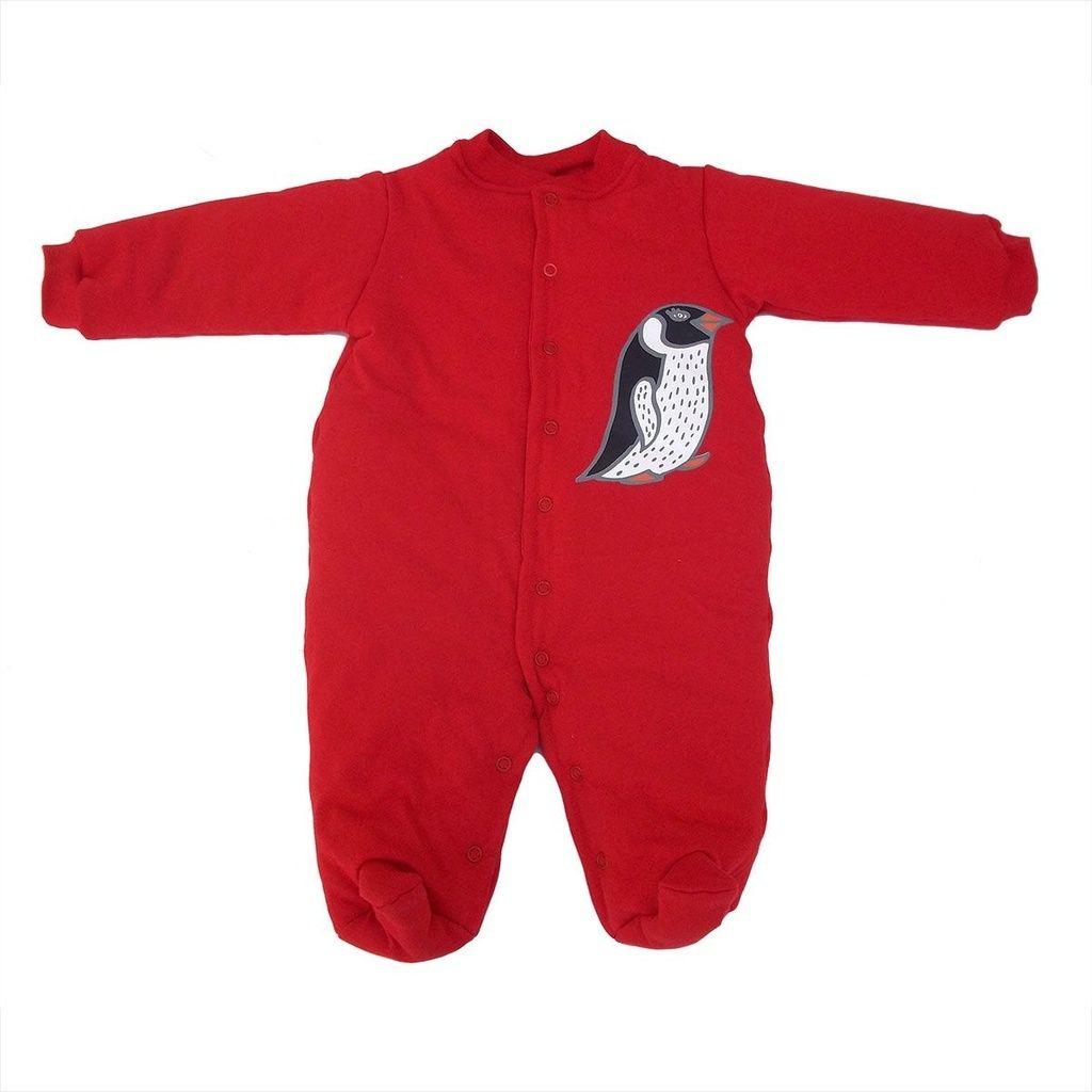 Macacão Esquimó Vermelho para bebê
