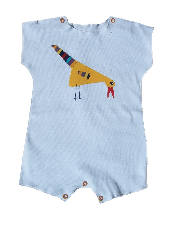 Macacão para Bebê Manga Curta Branco
