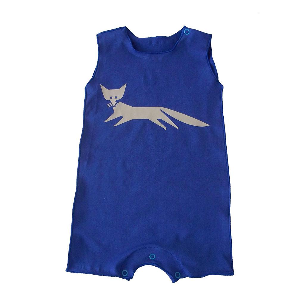 Macacão para Bebê Cavado Royal Raposa