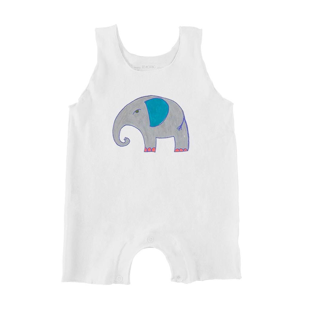 Macacão Regata Elefante