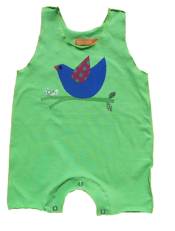 Macacão para bebê Regata Verde