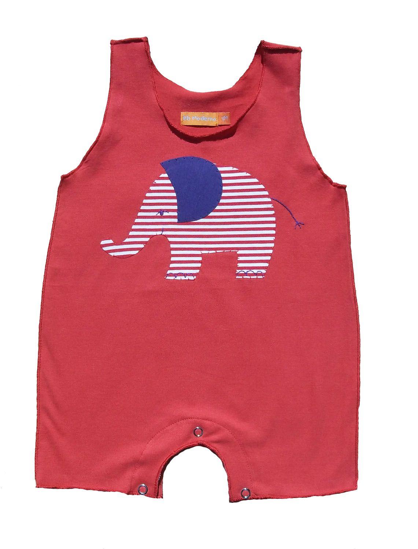 Macacão para Bebê Regata Vermelho