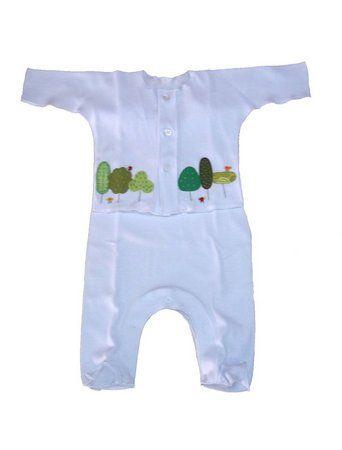 Saída Maternidade Unissex Branco - BB Moderno  b6f55b930b7
