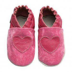 Sapato Babo Uabo Coração Rosa