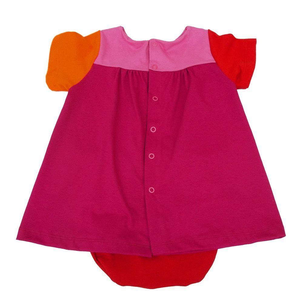 Vestido em Malha para Bebê