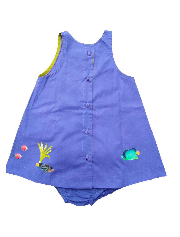 Vestido para Bebê Bordado