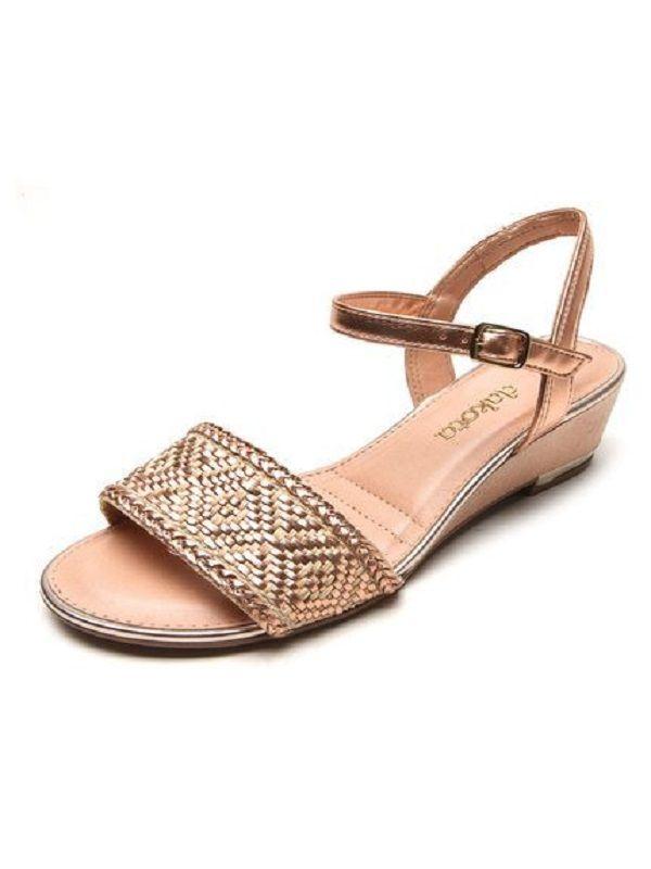 8be3e64bdc Sandália dakota salto baixo feminino calçados calçado certo jpg 600x800 Dakota  salto baixo
