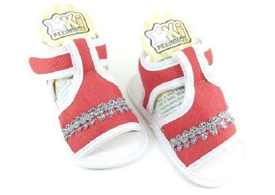 ba5a1e1e68 Sandália Kipezinhos Baby Feminino - Lú Calçados - Calçado certo pelo ...