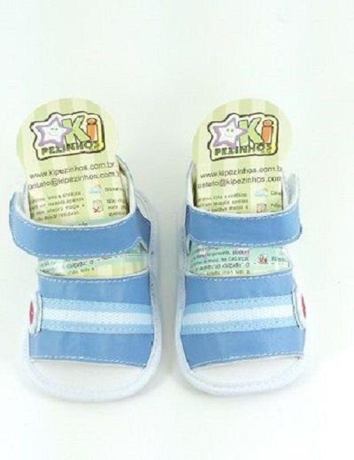 d385653cf4 Sandália Kipezinhos Baby Masculino - Lú Calçados - Calçado certo ...