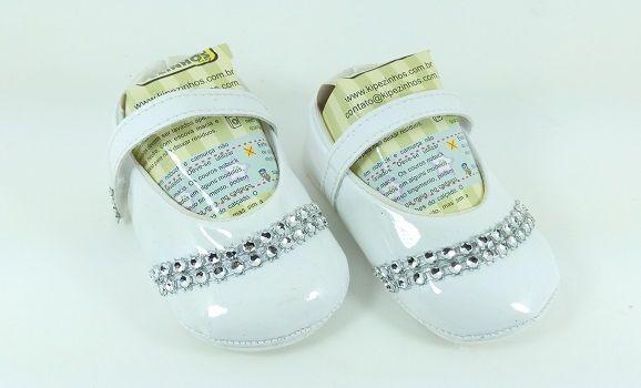 c3c56e99d9 Sapatilha Verniz Kipezinhos Baby Feminino - Lú Calçados - Calçado ...