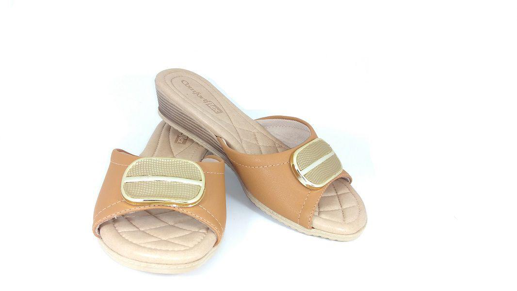 806cc5ffce Tamanco Comfortflex Feminino - Lú Calçados - Calçado certo pelo ...