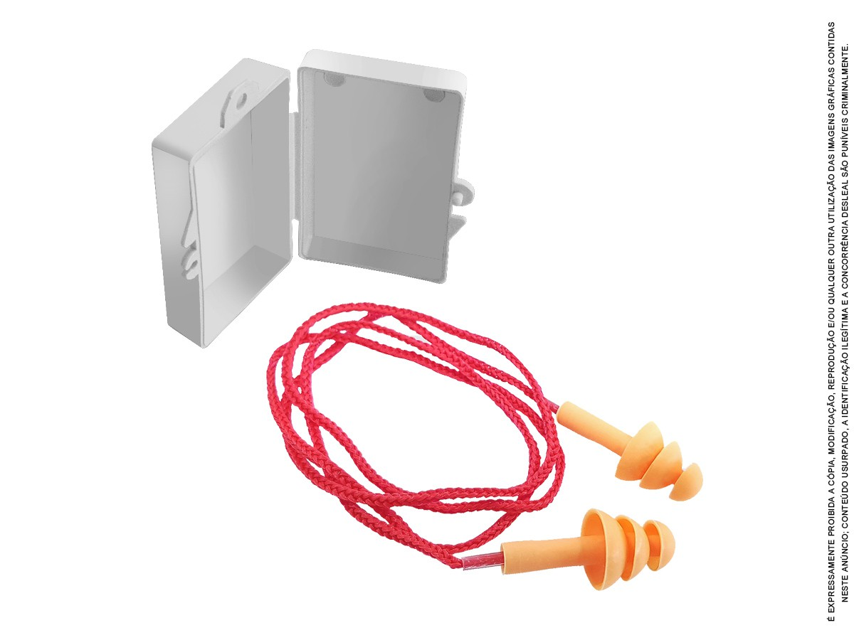 100 Un Protetor Ouvido Auricular Silicone Plug Antialérgico