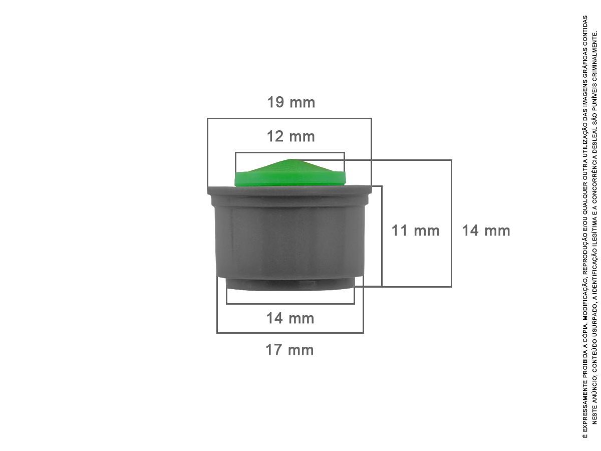15 Un Arejador Spray M24 1,8 L/min Miolo + Chave Idral
