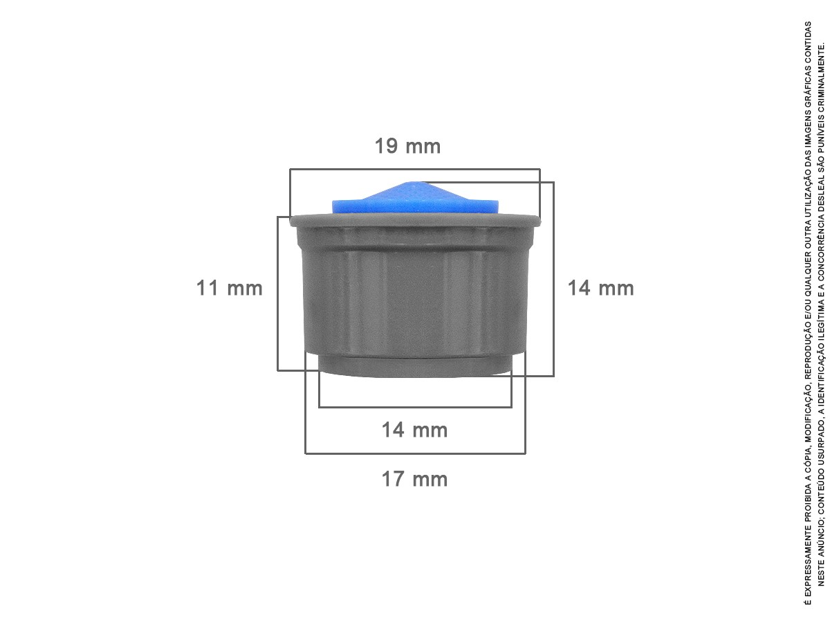 15 Un Arejador Spray M24 3,6 L/minuto Idral