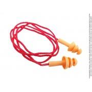50 Un Protetor Ouvido Auricular Silicone Plug Antialérgico