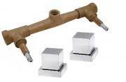 Misturador de Chuveiro com acabamento  Pisa padrão Deca