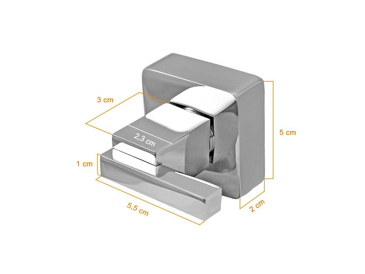 Acabamento Quadrado Registro 1/2 3/4 e 1 Metal Deca Torino