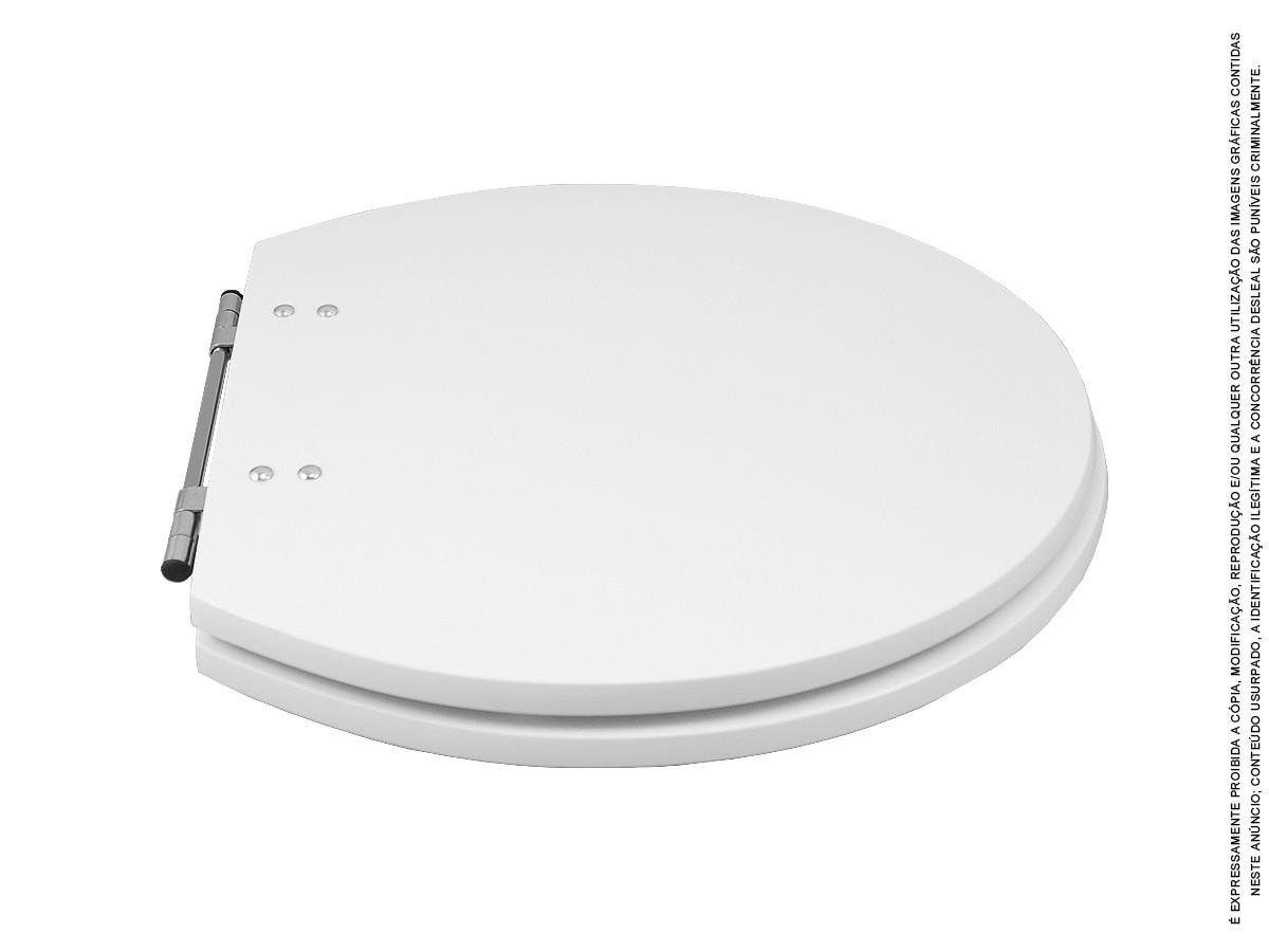 Assento Sanitário Sedile Premium Luxo Varias Marcas - Branco