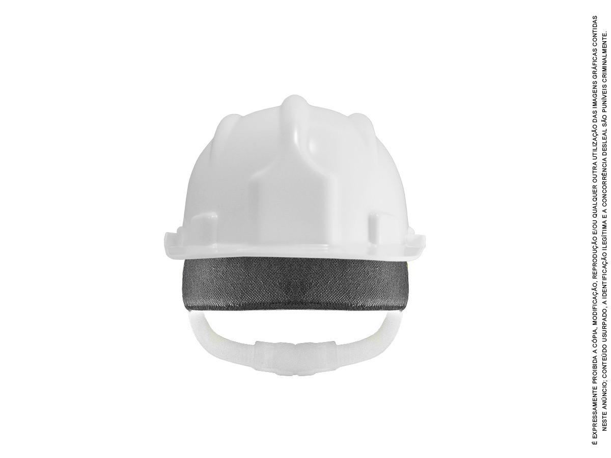 Capacete Plt Segurança Proteção Epi Obra + Carneira Inmetro