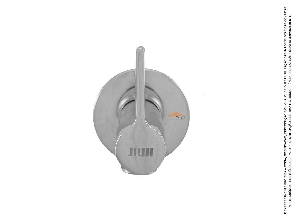 Ducha Higiênica Registro Metal 1/4 De Volta Tocsquare Luxo