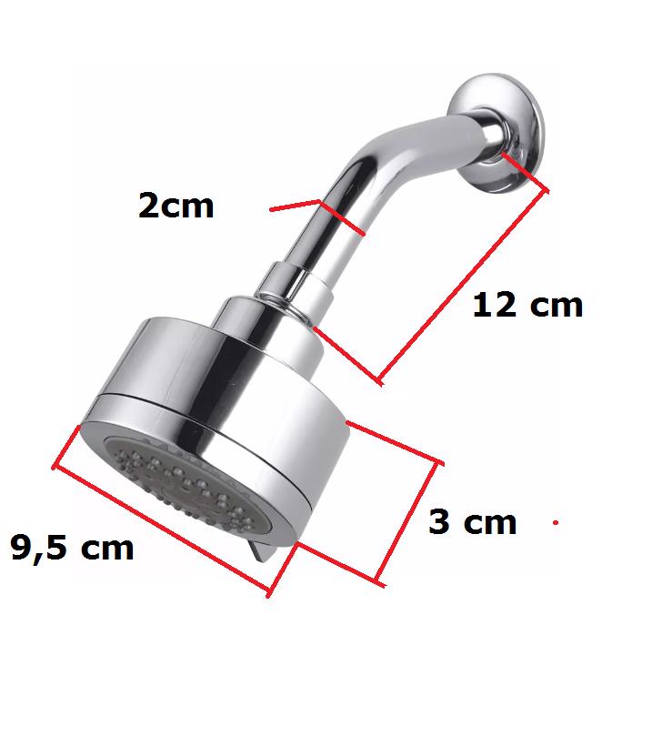 Duchar Articulada 5 funções Acqua Idral