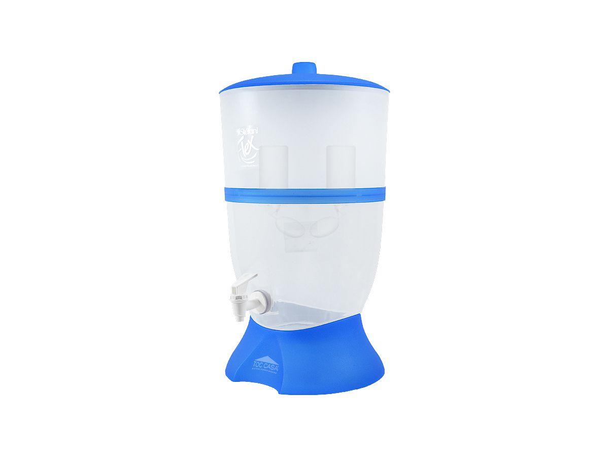 Filtro Flex Azul 6 Litros 2 Velas E Boias Cerâmica Stefani